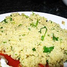 Lemon  and rosemary cous cous