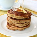 Wheat free,soya and flaxseed flapjacks