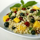 Quinoa and blueberry salad